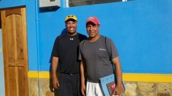 Visit with Sports Director of Central America